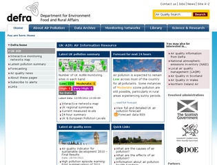 UK Air Quality Archive