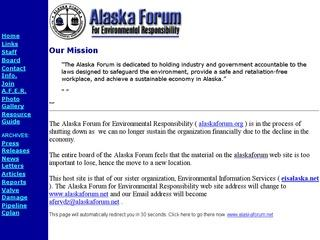 Alaska Forum for Environmental Responsibility