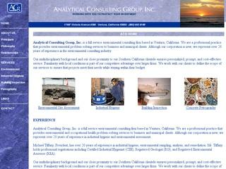 Analytical Consulting Group, Inc.