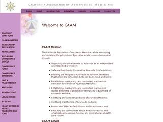 California Association of Ayurvedic Medicine