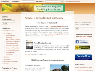 Biodynamic Farming and Gardening Association (BDA)