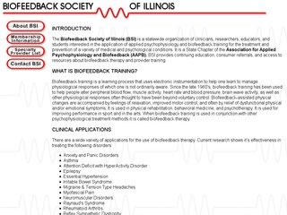 Biofeedback Society of Illinois
