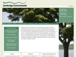 Cambridge Environmental Inc