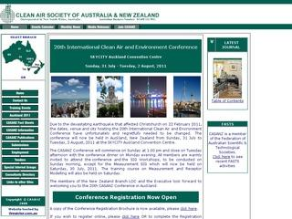 Clean Air Society of Australia and New Zealand