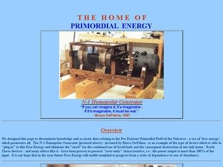 The Home of Primordial Energy
