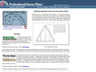 Professional Dome Plans
