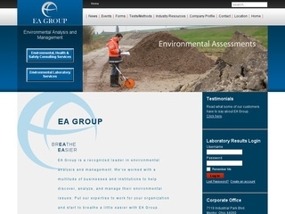 EA Group Environmental, Health and Safety Information
