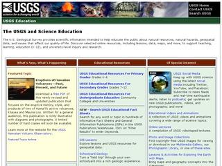 USGS Learning Web