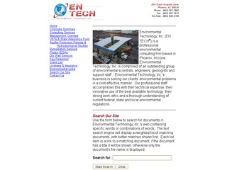 Environmental Technology, Inc. (EnTech)