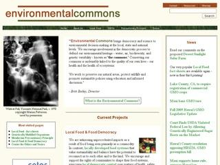 Environmental Commons