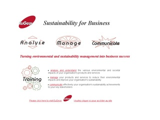 EuGeos: Environmental Management for Business