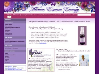 Flower Essence Energy