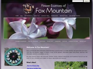 Flower Essences of Fox Mountain