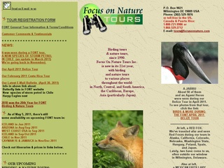 Focus On Nature Tours Inc.