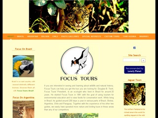 Focus Tours - birding tours & nature tours