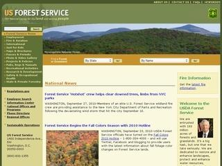 U.S. Forest Service Air Quality and Smoke Management Pages