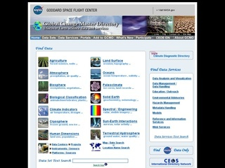NASA's Global Change Master Directory