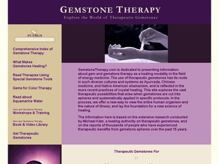 Gem and Gemstone Therapy