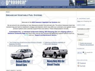 Greasecar Vegetable Fuel Systems