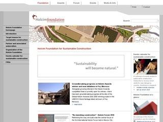 Holcim Foundation for Sustainable Construction