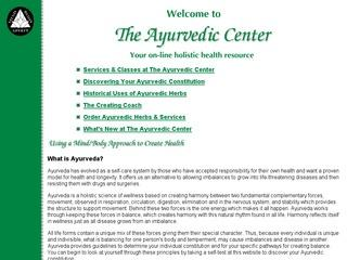 The Ayurvedic Center