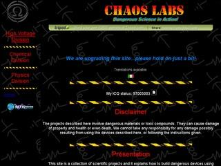 Chaos Labs High Voltage Division