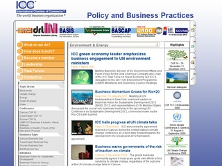 ICC Environment and Sustainable Development