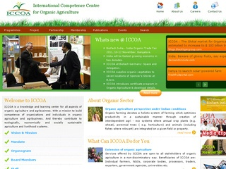 International Competence Centre for Organic Agriculture (ICCOA)