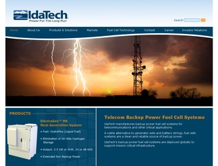 IdaTech to Develop RV Fuel Cell System                      IdaTech to Develop RV Fuel Cell System
