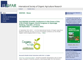 International Society of Organic Agriculture Research (ISOFAR)