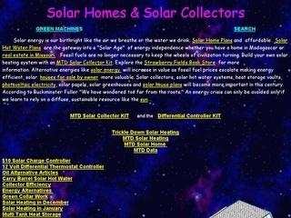 JC Solar House Plans and Solar Collectors
