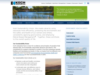 Koch and the Environment