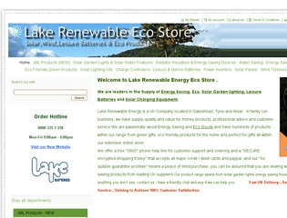 Lake Renewable Energy Store