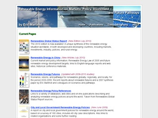 Renewable Energy Information