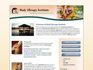 Body Therapy Institute :: A Massage School in North Carolina ...