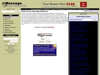 Massage Network - a global network of massage therapists