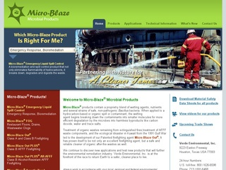Micro-Blaze Microbial Products