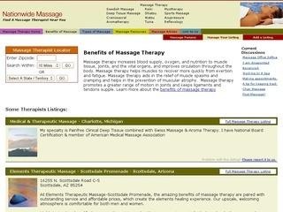 Massage Therapy at Nationwide Massage ::: Find a Massage Therapist ...