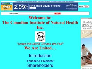 Canadian Institute of Natural Health (CINH)