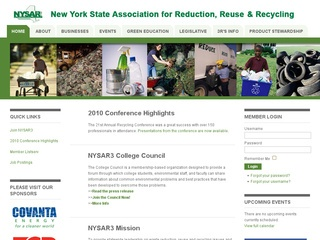 New York State Association for Reduction Reuse and Recycling