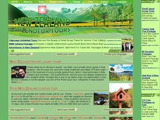 New Zealand Splendeur Tours