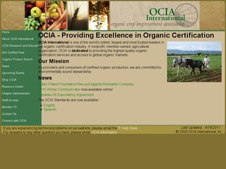 Organic Crop Improvement Association (OCIA)