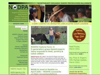 Northeast Organic Dairy Producers Alliance