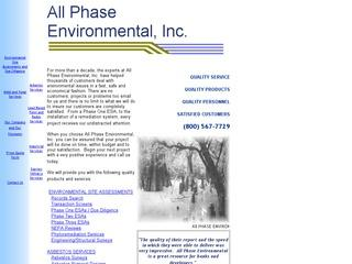 All Phase Environmental, Inc.