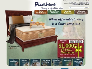 Plushbeds Latex Mattress Manufacturer
