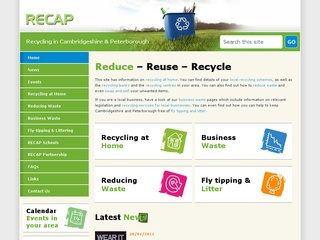 Recycling in Cambridgeshire and Peterborough