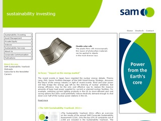 Sustainable Asset Management (SAM)