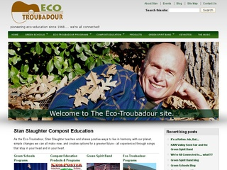 Stan Slaughter, Eco-Troubadour