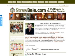 Straw Bale Innovations