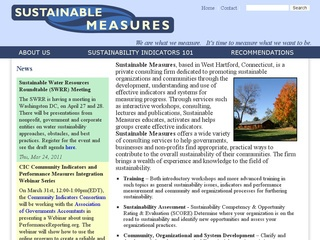 Indicators of Sustainability